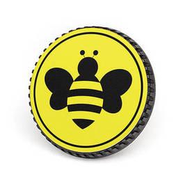 LenzBuddy Body Cap for Canon EF Mount Cameras (Bumblebee, Yellow)