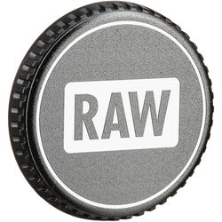 LenzBuddy Body Cap for Canon EF Mount Cameras (RAW, Black/White)