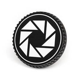 LenzBuddy Body Cap for Canon EF Mount Cameras (Aperture, Black/White)