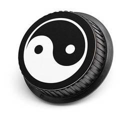LenzBuddy Yin Yang Rear Lens Cap for Canon (Black & White)