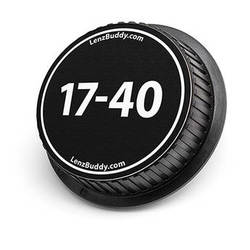 LenzBuddy 17-40mm Rear Lens Cap (Black & White)