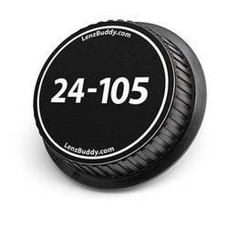 LenzBuddy 24-105mm Rear Lens Cap (Black & White)