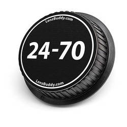 LenzBuddy Rear Lens Cap for Canon 24-70mm Lens