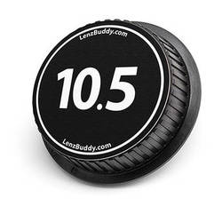 LenzBuddy 10.5mm Rear Lens Cap (Black & White)