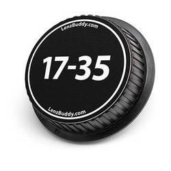 LenzBuddy 17-35mm Rear Lens Cap (Black & White)