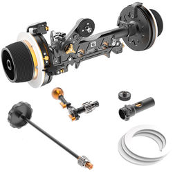Bright Tangerine Revolvr Dual-Sided 19mm Studio Follow Focus Kit