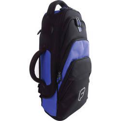 Fusion-Bags Premium Trumpet Gig Bag (Black/Blue)