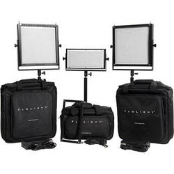 Flolight MicroBeam 2- 1024 / 1- 512 Three Light LED Video Kit