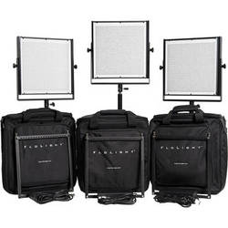 Flolight 3x MicroBeam 1024 Daylight LED Video Lighting Kit