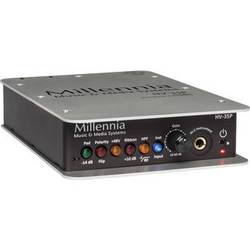 Millennia HV-35P Portable Microphone and Instrument Preamplifier (Single Channel)