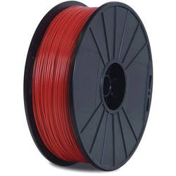 BuMat Elite Dreamer 1.75mm PLA Filament (1.5 lb, Red)