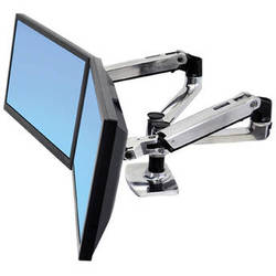 Ergotron LX Dual Desk Mount Side-by-Side Arm
