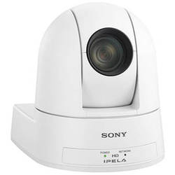 Sony SRG300SE/W 1080p Desktop & Ceiling Mount Remote PTZ Camera (White)