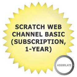 Assimilate SCRATCH Web Channel Basic (Subscription, 1-Year)