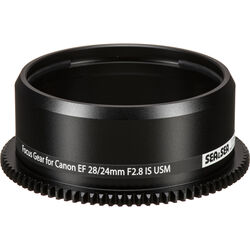 Sea & Sea Focus Gear for Canon EF 24mm or 28mm f/2.8 IS USM in Lens Port on MDX or RDX Housing