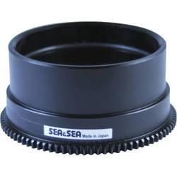 Sea & Sea Focus Gear for Sony 30mm f/3.5 Macro Lens in Port on MDX-a6000 Housing