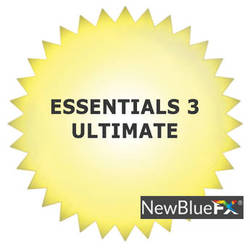 NewBlueFX Essentials 3 Ultimate (Download)