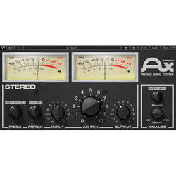 Waves Aphex Vintage Aural Exciter - Audio Enhancement Plug-In (Native/SoundGrid, Download)