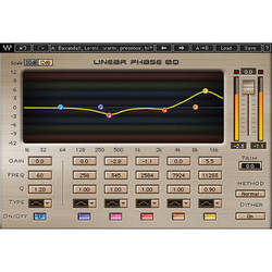 Waves Linear Phase EQ - Mastering Equalizer Plug-In (Native/SoundGrid, Download)