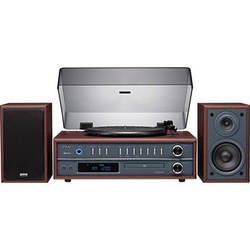 Teac LP-P1000 Turntable Stereo System with CD/Radio/Bluetooth (Cherry)