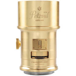 Lomography Petzval 85mm f/2.2 Lens for Canon EF Mount (Brass)