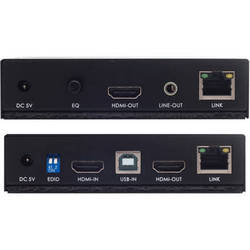Apantac Single Port DVI-D/USB over CATx KVM-1-ED Extender & KVM-1-RD Receiver Set