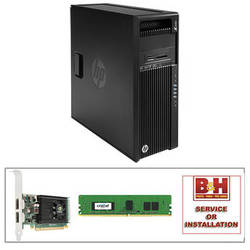 HP Z440 Series F1M40UT Turnkey Workstation with 8GB RAM and HP NVIDIA NVS 310 Graphics Card