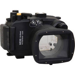 Polaroid Underwater Housing for Sony Alpha NEX-6 and 18-55mm f/3.5-5.6 Lens