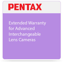 Pentax Extended Warranty for Advanced Interchangeable Lens Cameras