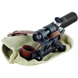 Bering Optics 3.5x20 PU Mosin-Nagant Scope with a Steel Mount (German #1-Style Reticle, Black)