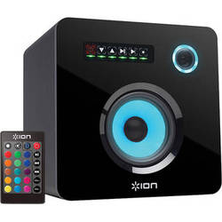 ION Audio Flash Cube Wireless Speaker with Multi-Colored LED Lighting