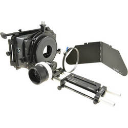 Chrosziel 15mm LWS Baseplate with Matte Box and Follow Focus Bundle for BMCC