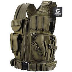 Barska Loaded Gear VX-200 Right-Handed Tactical Vest (OD Green)