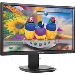 "ViewSonic VG2437SMC 24"" Full HD Ergonomic LED Monitor with Integrated Webcam"