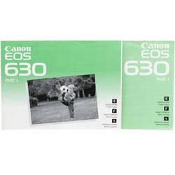 Canon EOS 630 Instruction Books Set of 2