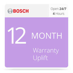 Bosch 12-Month Warranty Upgrade: 4-Hour Installation of Replacement Parts for DSA E-Series DSA-N2C6X3-12AT Dual Controller Base Unit (12 x 3TB)