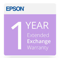 Epson One-Year Extended Exchange Warranty for Home Theater Projectors