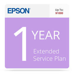 Epson 1-Year Replacement Extended Service Contract for Business Scanners Valued up to $1000