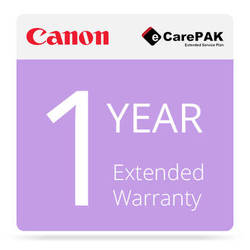 Canon 1-Year Extended Warranty (Care-Pak) For Canon imagePROGRAF iPF9400 Printers