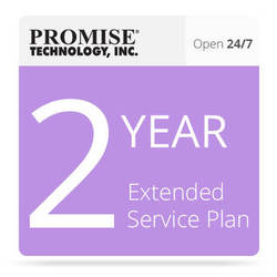 Promise Technology 2-Year 24/7 Extended Support Plan for Vess J2000 JBOD with Drives