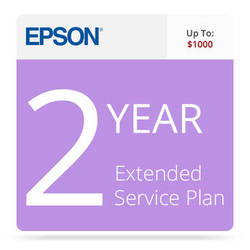Epson 2-Year Extended Service Contract For Business Scanners Valued up to $1000