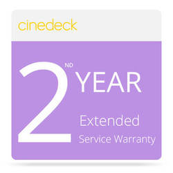 Cinedeck Extended 2nd Year Service for MX Recorder / Monitor / Playback System