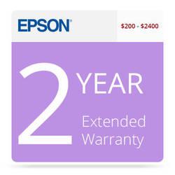 Epson 2-Year U.S. Extended Warranty for Inkjet Printers $200-$400