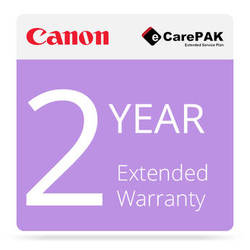 Canon 2-Year Extended Warranty (Care-Pak) For Canon imagePROGRAF iPF8400 Printers