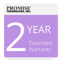 Promise Technology 2-Year Extended Warranty for Vess J2000 JBOD with Drives