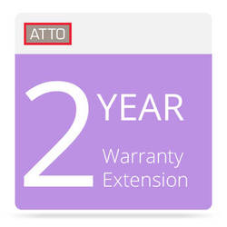 ATTO Technology 2-Year Warranty Extension for FibreConnect 8300 Series Switches