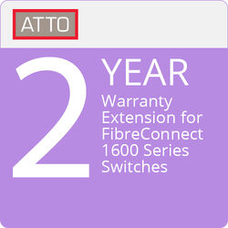 ATTO Technology 2-Year Warranty Extension for FibreConnect 1600 Series Switches