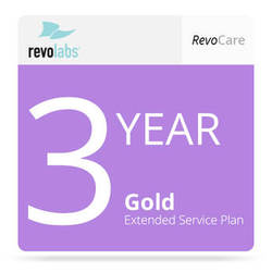 Revolabs 3-Year Gold revoCARE Extended Service Plan for Executive HD 8 Channel System (with 8 HD Microphone Coverage)