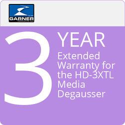 Garner 3-Year Extended Warranty for the HD-3 Media Degausser