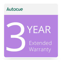 Autocue/QTV 3-Year Extended Warranty for PSP17 Prompter Monitor